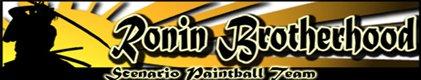 Ronin Brotherhood Paintball Team